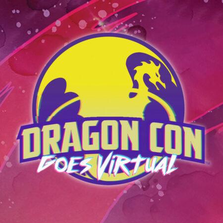 Dragon Con Goes Virtual logo