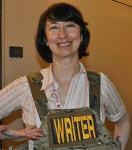 Jody Lynn Nye Pilots Writers' Workshop
