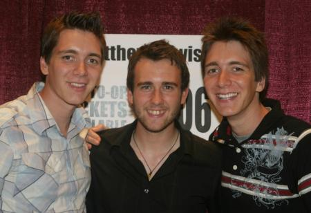 Neville and the Weasley Twins