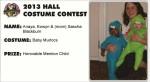 2013 Hall Costume Contest