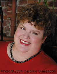 Charlaine Harris (Photo Copyright © 2004 Caroline Grayshock)