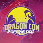 Dragon Con Goes Virtual logo