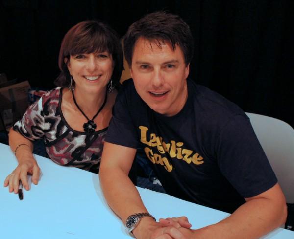 Carole and John Barrowman Photo by K. Tempest Bradford