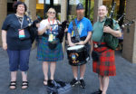 Pipers & Drum Quartet Jam at Dragon Con