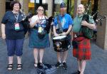 Pipers & Drum Quartet Jam at Dragon Con