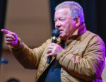 Actor William Shatner speaking to a Dragon Con audience