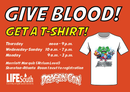 Dragon*Con Blood Drive
