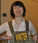Jody Lynn Nye Pilots Writers' Workshop