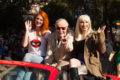 Stan Lee - (Grand marshal of the parade)