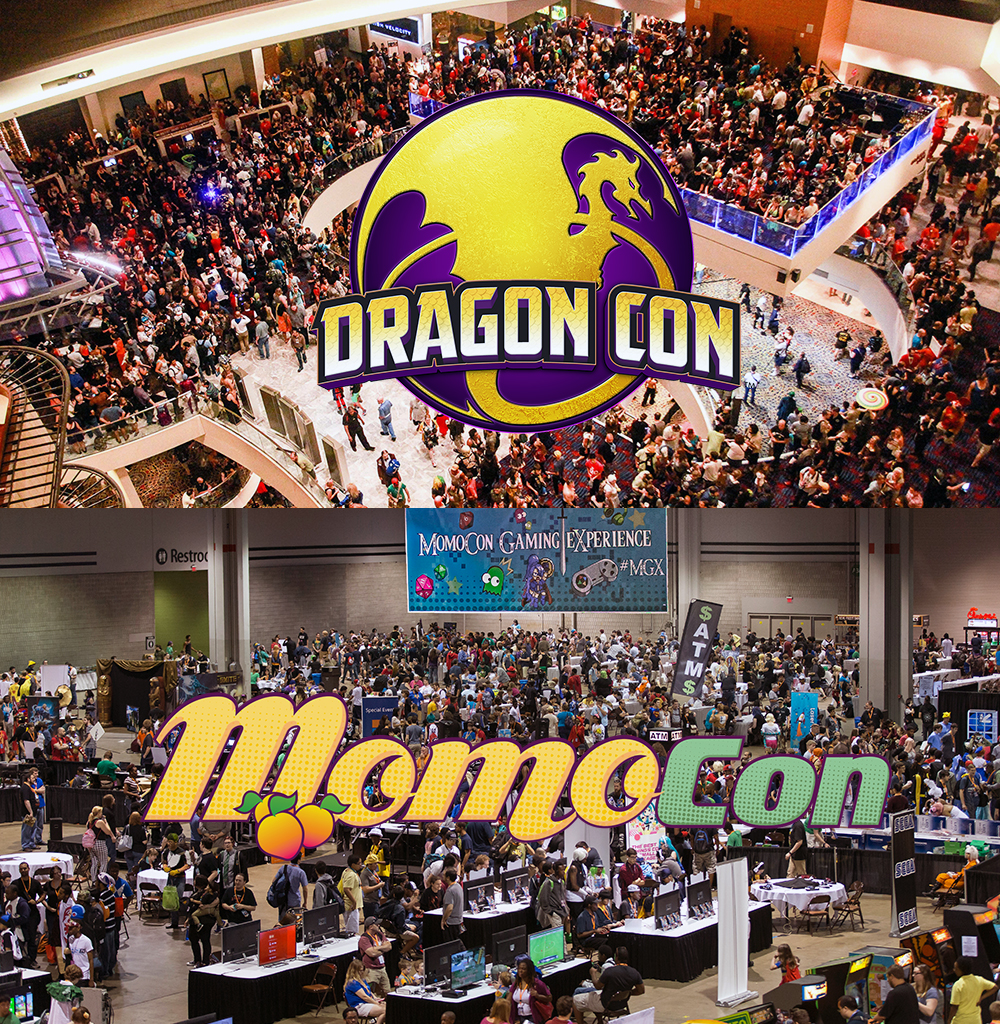Dragon Con & MomoCon ... better than Voltron?