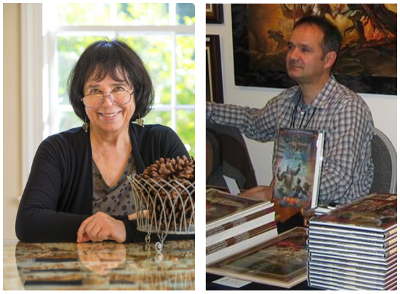 2017 Guests of Honor, Jane Yolen and Petar Meseldžija