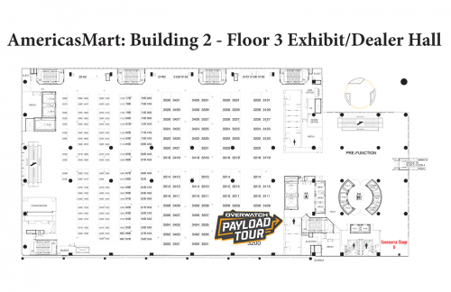 Map of AmericasMart - Building 2, Floor 3