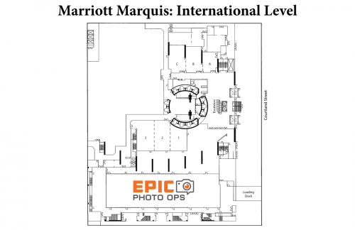 Map of Marriott International Level
